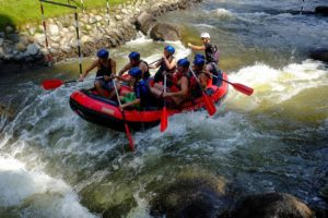 Rafting con gommone