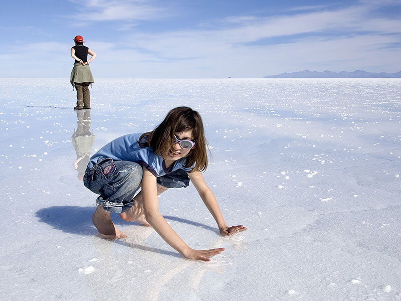Distesa di sale a Salar de Uyuni