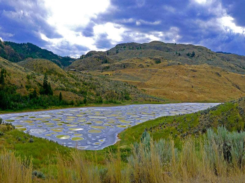 Lago di Kliluk a pois