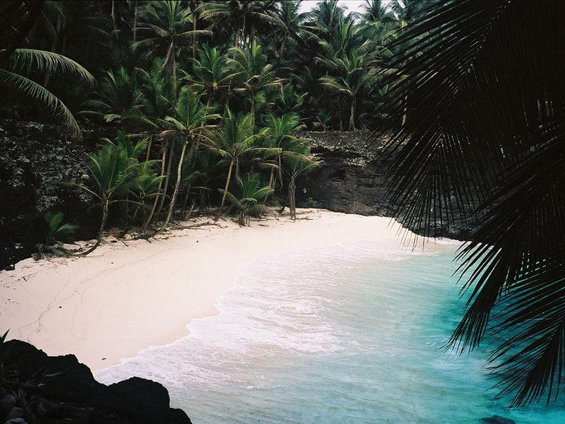 Spiaggia di São Tomé e Príncipe