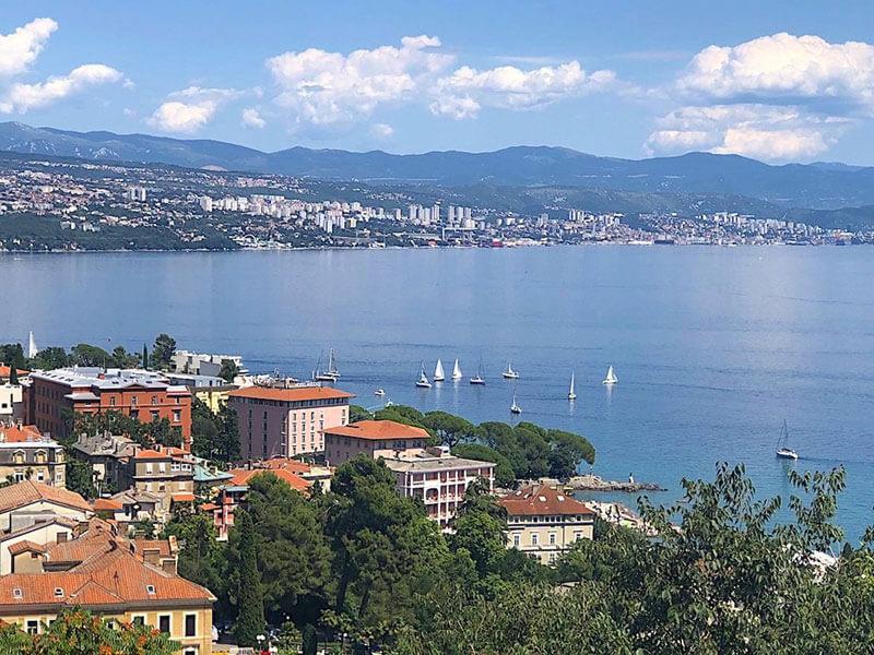 Vista di Rijeka
