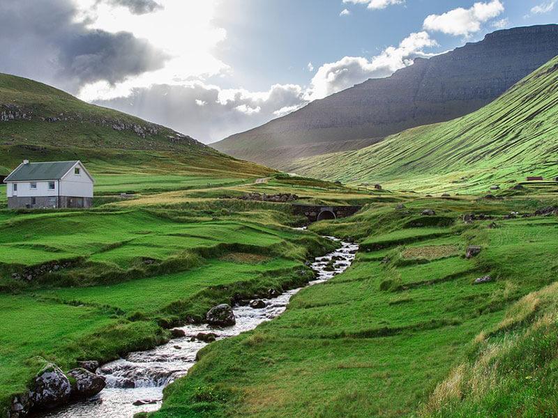 Paesaggi Isole Faroe