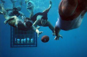 rugby sott'acqua